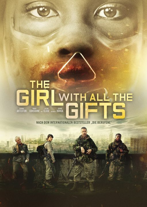 The Girl With All The Gifts - Artwork - Bildquelle: SquareOne Entertainment.