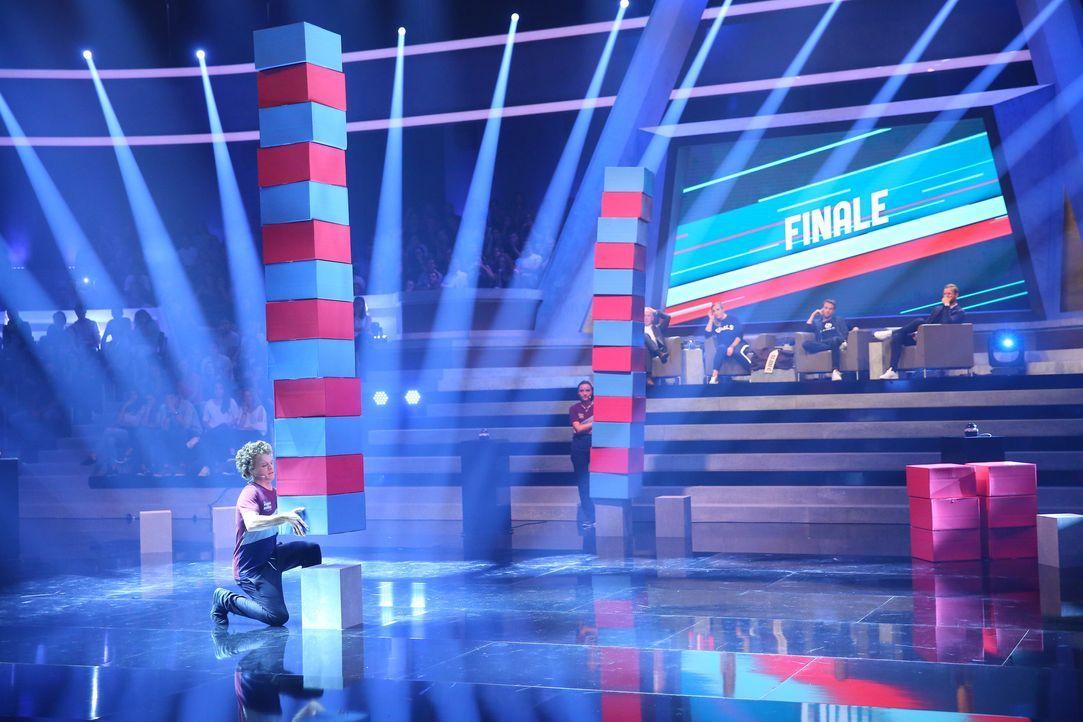 Finalstimmung bei Beginner gegen Gewinner - Bildquelle: ProSieben