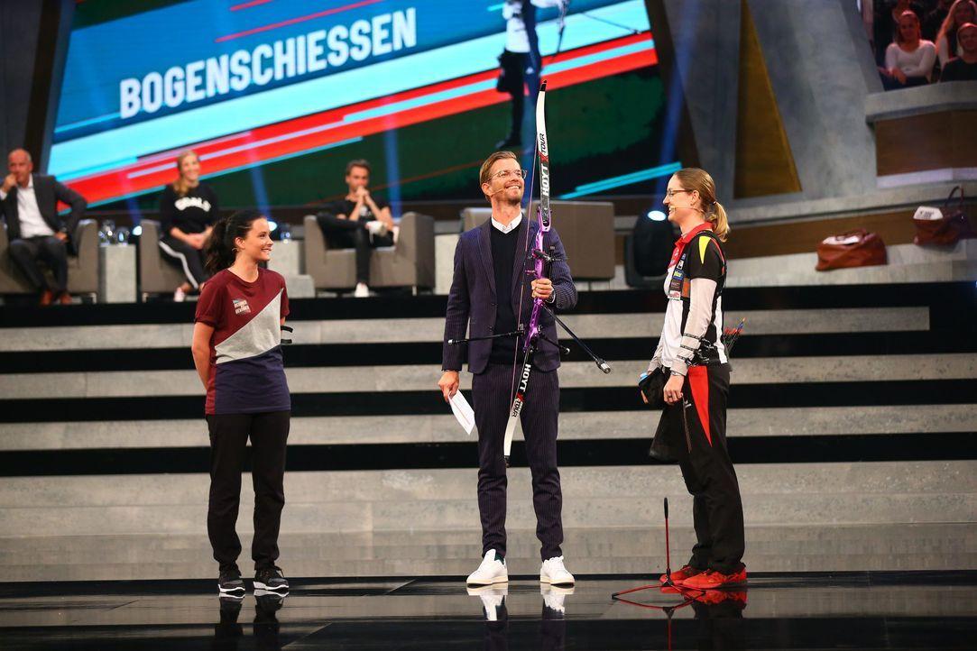Bogenschießen - Bildquelle: ProSieben