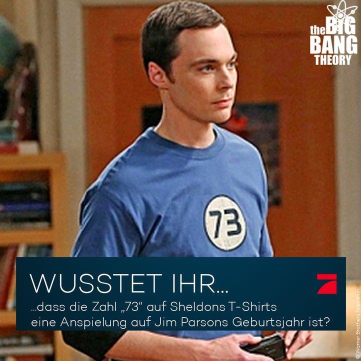Big Bang Theory Trivia: Die geheimnisvolle 73 - Bildquelle: Warner Brothers Television