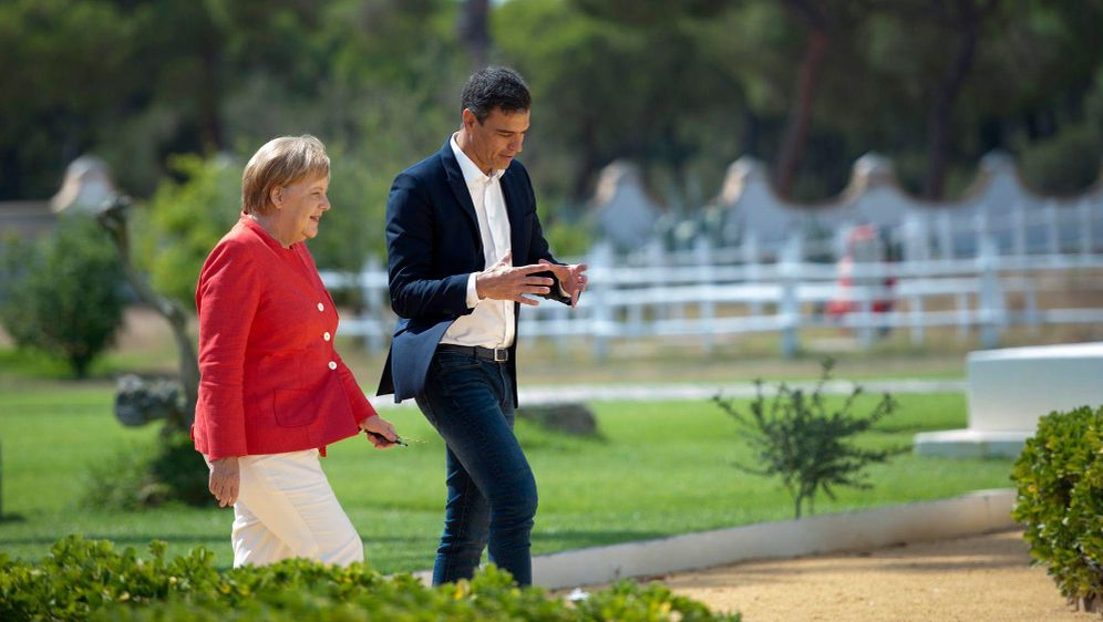 - Bildquelle: Laura Leon/Moncloa Palace/AP/dpa