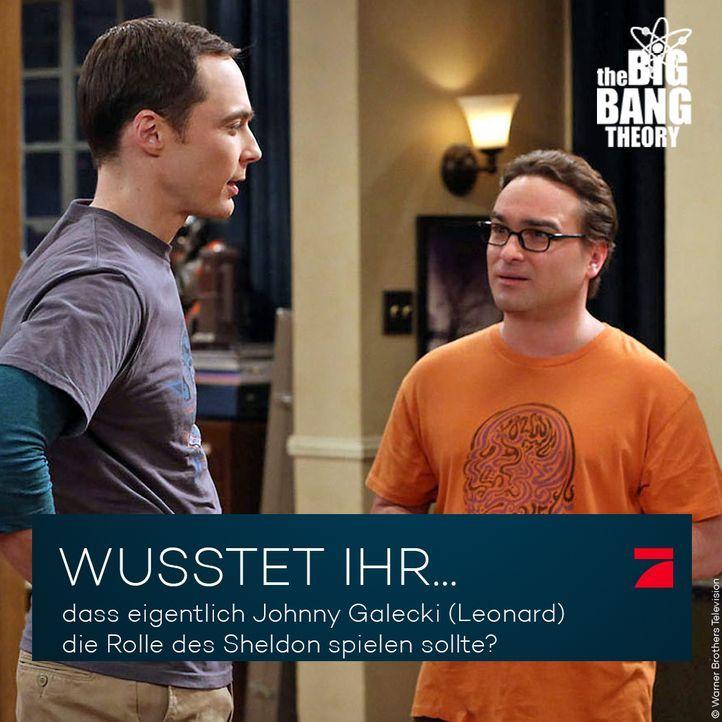 Big Bang Theory Trivia: Rollentausch - Bildquelle: Warner Brothers Television