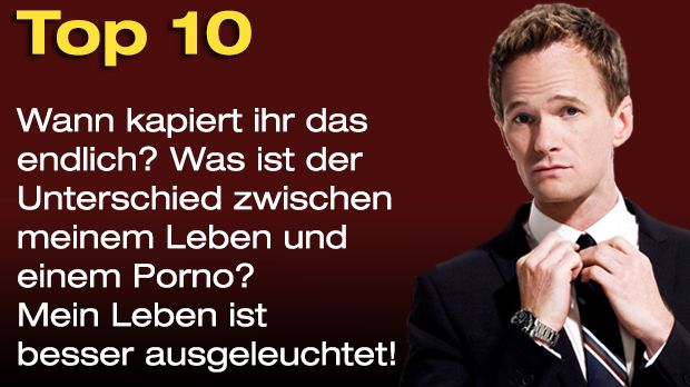Countdown-BarneySprueche-Top10 - Bildquelle: twentieth Century Fox and all of its entities all rights reserved