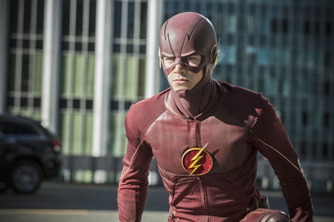 Die Ereignisse, die zur Rettung von Central City beigetragen haben, machen Barry alias The Flash (Grant Gustin) immer noch zu schaffen. Schließlich... - Bildquelle: 2015 Warner Brothers.