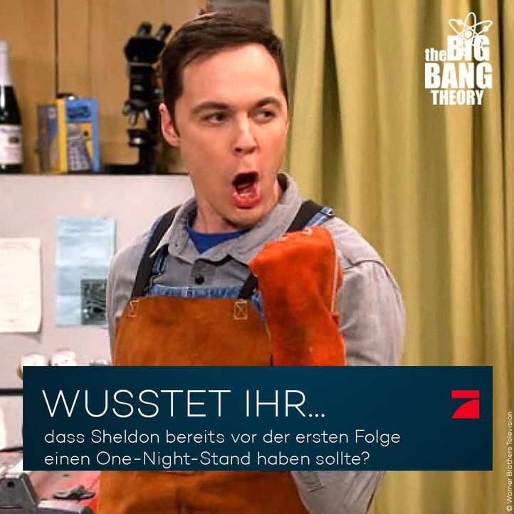 Big Bang Trivia: Sheldons Sex-Erfahrungen - Bildquelle: Warner Brothers Television