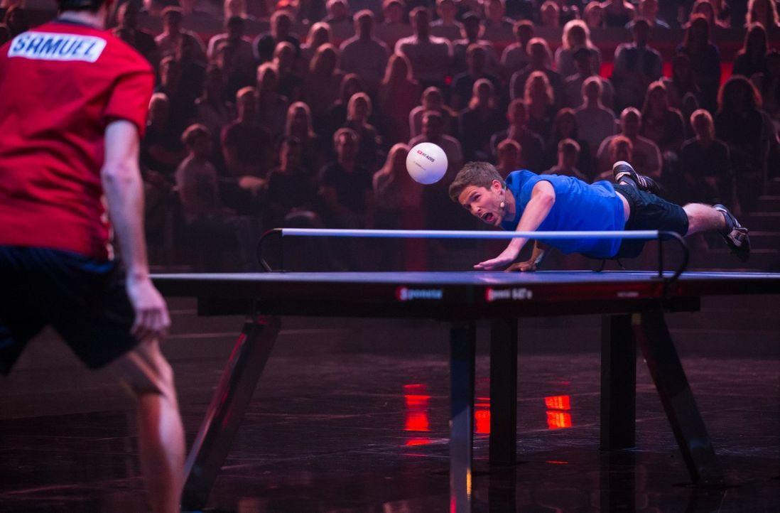 Die Spiele verlangen vollen Körpereinsatz - doch reicht das, um zu gewinnen? - Bildquelle: Jens Hartmann ProSieben/Jens Hartmann