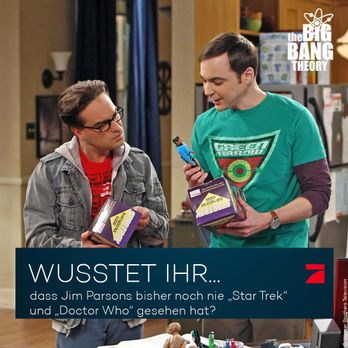 Big Bang Theory Trivia: Star Trek und Doctor Who - Bildquelle: Warner Brother...