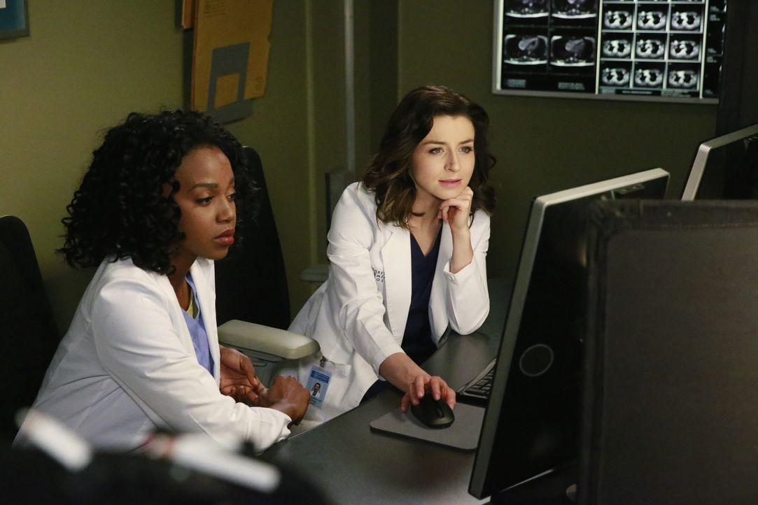 Immer im Einsatz, um Leben zu retten: Stephanie (Jerrika Hinton, l.) und Amelia (Caterina Scorsone, r.) ... - Bildquelle: ABC Studios