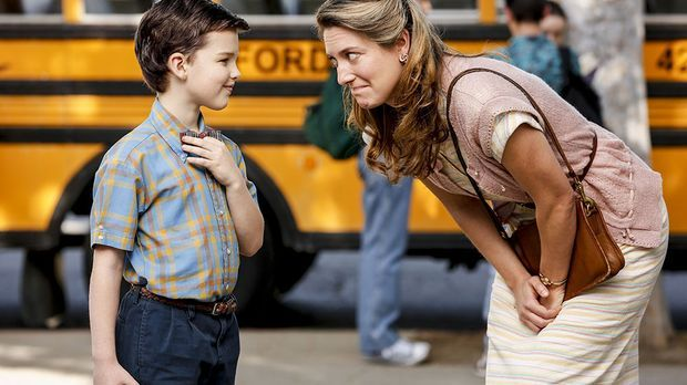 Young Sheldon mit Mutter