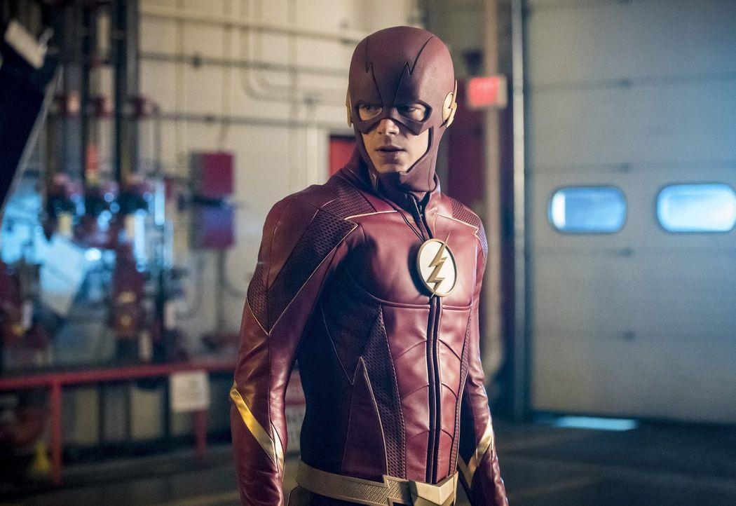 Barry alias The Flash (Grant Gustin) muss sich nicht nur um ein neues Metawesen kümmern, sondern auch um seine Beziehung mit Iris ... - Bildquelle: 2017 Warner Bros.