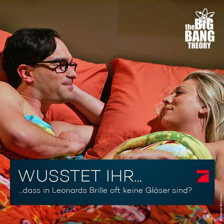 Big Bang Theory Trivia: Leonards Brille - Bildquelle: Warner Brothers