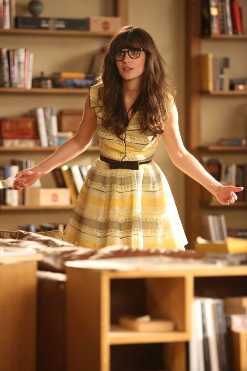 Jess (Zooey Deschanel) wird aus Einsparungsgründen von ihrer Schule gekündigt. Sie ist schockiert und die Jungs fürchten schon, dass sie wieder tage... - Bildquelle: 2012 Twentieth Century Fox Film Corporation. All rights reserved.