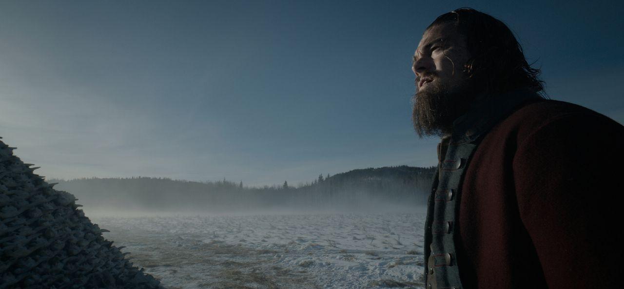 Wird es der verwundete Fallensteller und Pelztier-Jäger Hugh Glass (Leonardo DiCaprio) jemals lebend zu einem rettenden Fort schaffen? - Bildquelle: 2015 Twentieth Century Fox Film Corporation.  All rights reserved.