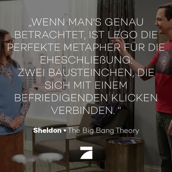 TBBT_12x01_Zitat_Lego - Bildquelle: Warner Bros. Television