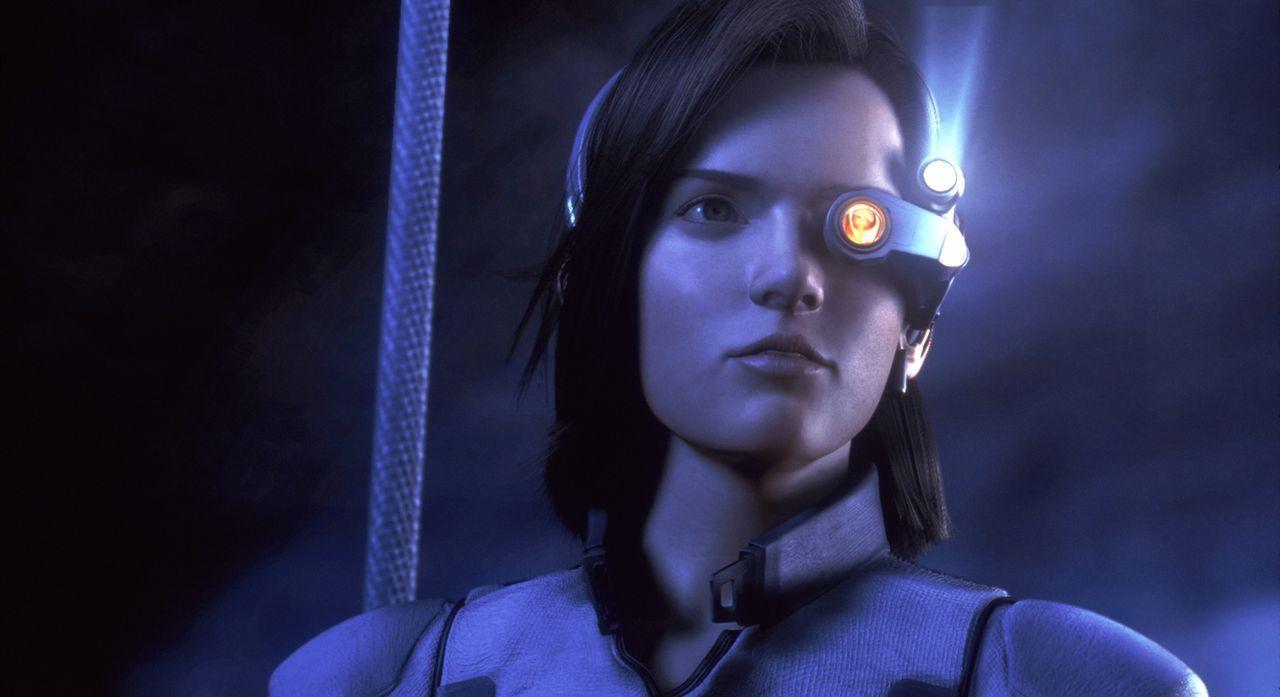 Die Zeit läuft ab - und die Erde scheint den Kampf gegen die Aliens zu verlieren, doch Aki denkt gar nicht daran aufzugeben ... - Bildquelle: 2003 Sony Pictures Television International. All Rights Reserved.