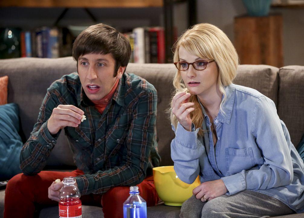 Howard (Simon Helberg, l.); Bernadette (Melissa Rauch, r.) - Bildquelle: Warner Bros. Television
