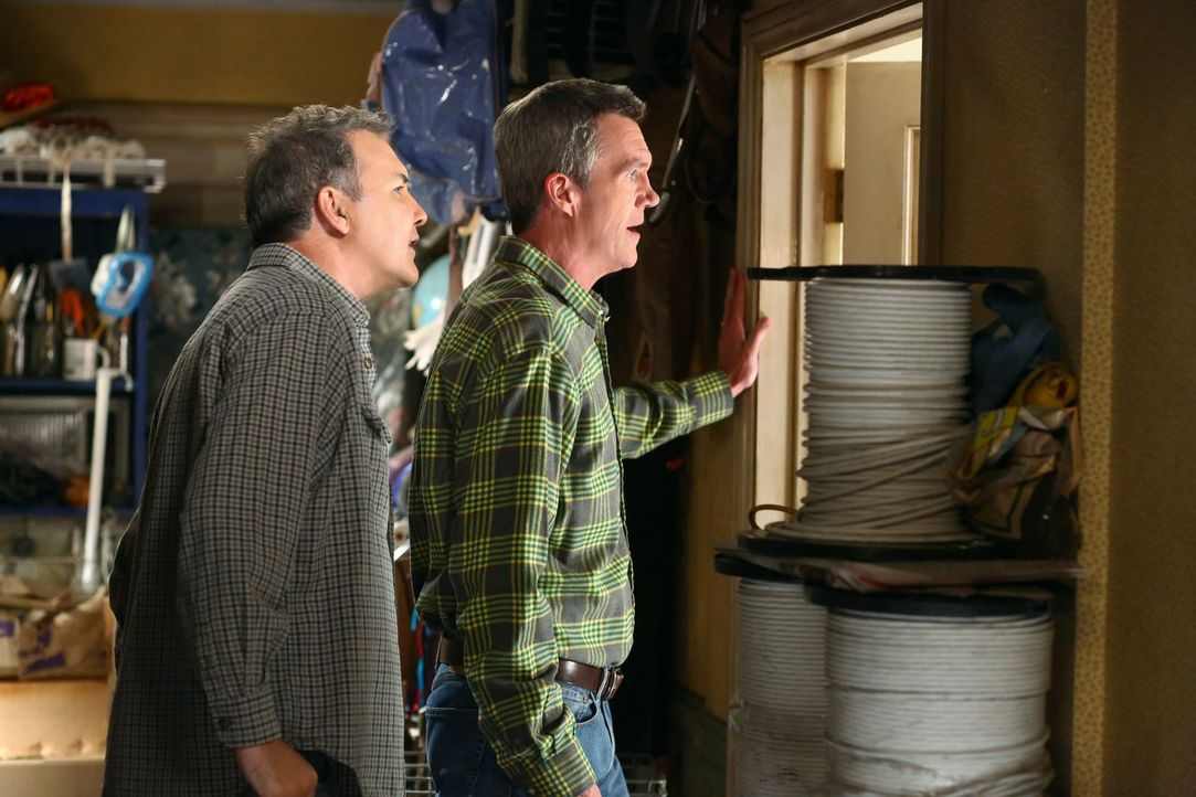 Rusty (Norm MacDonald, l.); Mike (Neil Flynn, r.) - Bildquelle: Warner Brothers
