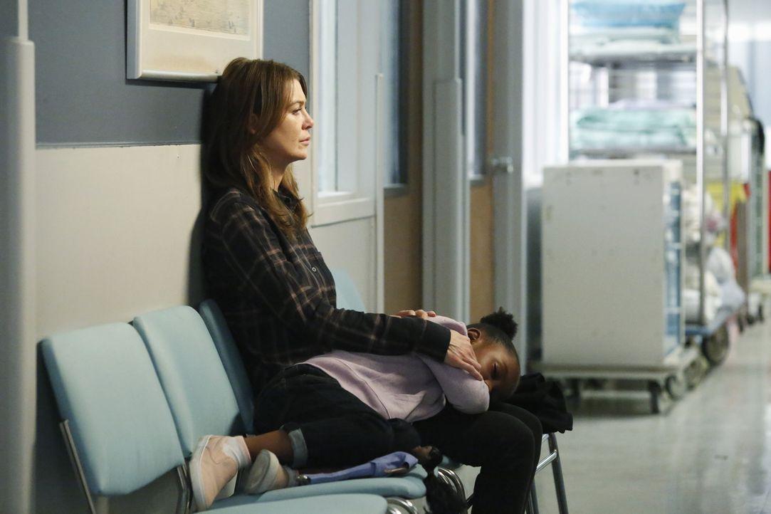 Für Meredith (Ellen Pompeo) bricht eine Welt zusammen, als sie erfährt, was mit Derek geschehen ist ... - Bildquelle: ABC Studios