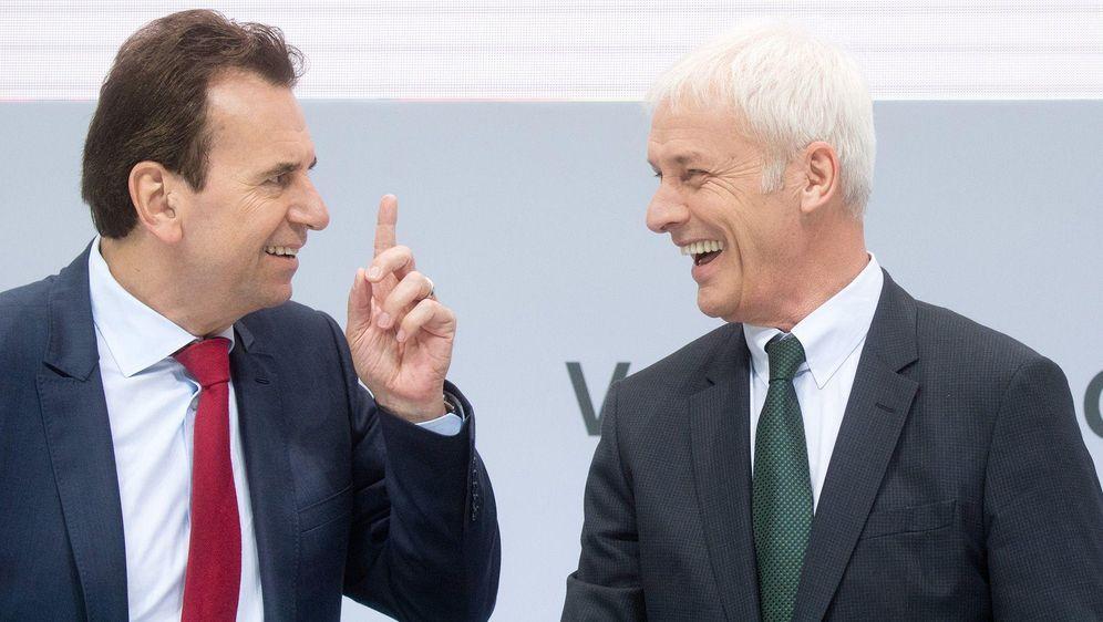 VW steht vor Personalrochade - Bildquelle: dpa