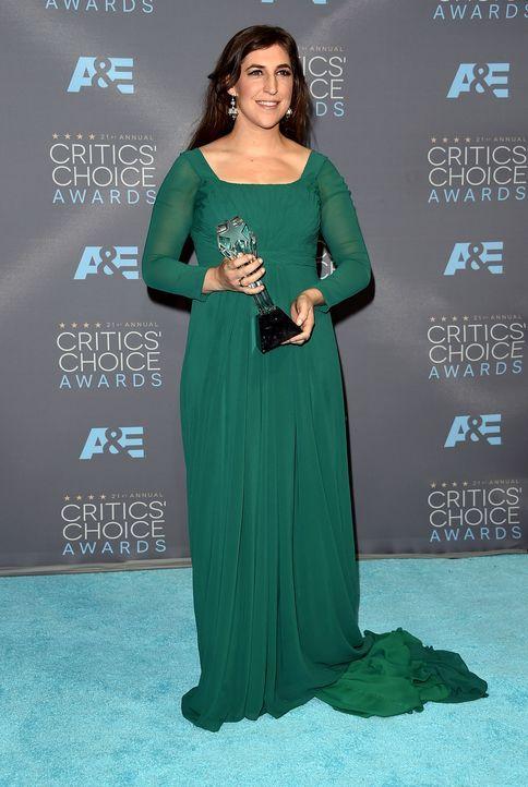 Critcs-Choice-Awards-160117-Mayim-Bialik-Award-getty-AFP - Bildquelle: getty-AFP