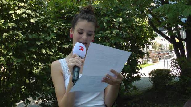 Topmodel Betty Taube Im Interview Germany S Next Topmodel 2014