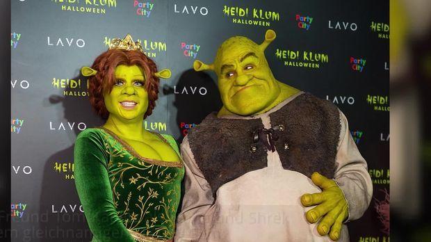 Heidi Klums Shrecklich Schauriges Halloween Outfit