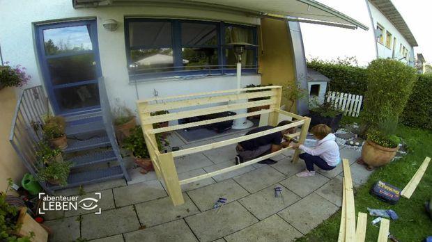 Gartenküche selber bauen – für nur 150 Euro! - SAT.1 Ratgeber