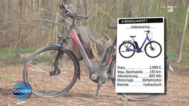Galileo Video Teuer Gegen Gunstig Der E Bike Test Prosieben