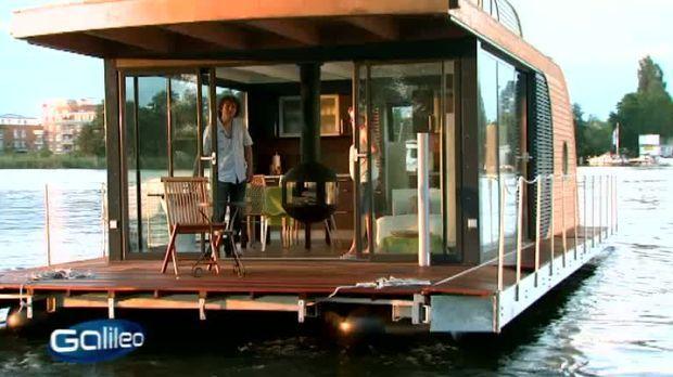 Galileo - Video - Luxus-Hausboot - ProSieben
