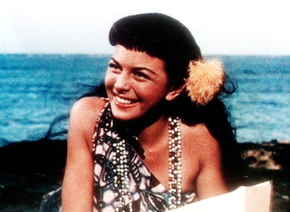 Die schöne Dalabo (Joan Rice) hat dem Kapitän David O'Keefe den Kopf verdreht. - Bildquelle: Warner Bros.