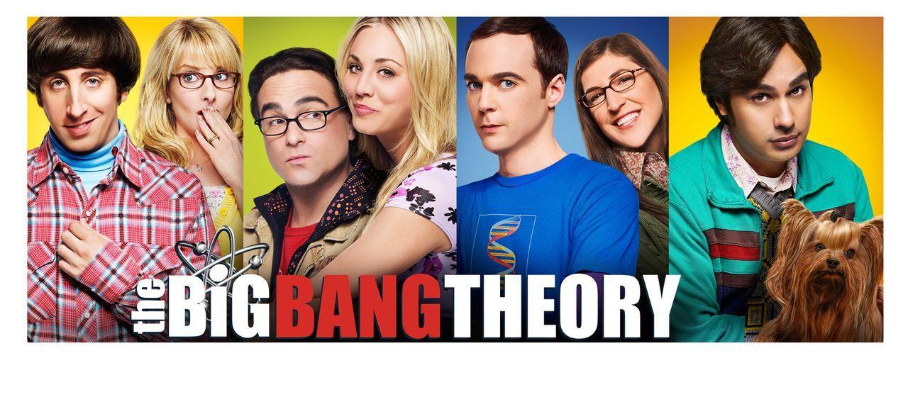 (8. Staffel) - The Big Bang Theory: Bernadette (Melissa Rauch, 2.v.l.), Howard (Simon Helberg, l.), Amy (Mayim Bialik, 2.v.r.), Sheldon (Jim Parsons... - Bildquelle: Warner Bros. Television