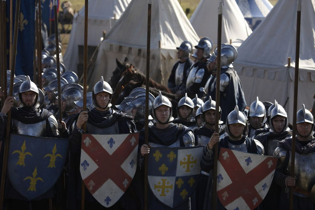 König Karl VIII von Frankreich ist Rom bedrohlich nahe gerückt ... - Bildquelle: LB Television Productions Limited/Borgias Productions Inc./Borg Films kft/ An Ireland/Canada/Hungary Co-Production. All Rights Reserved.