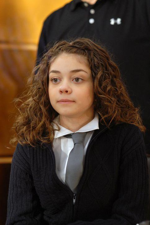 Auch in schweren Zeiten steht die kleine Maddie (Sarah Hyland) hinter ihrer Mutter ... - Bildquelle: 2004 NBC, Inc.