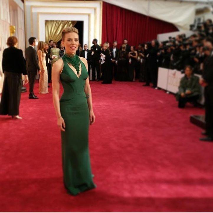 Scarlett Johansson; instagram.com/theacademy