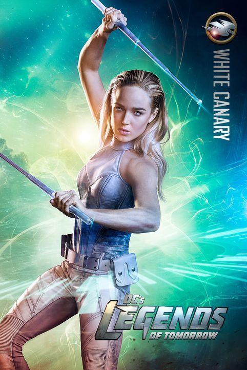 (1. Staffel) - Wird sich Sara Lance alias White Canary (Caity Lotz) in das Team aus Helden und Schurken einfügen können und ihre Fähigkeiten zur Ret... - Bildquelle: 2015 Warner Bros.