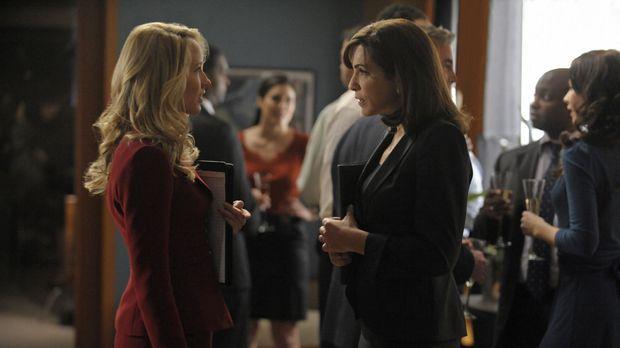 Während einer Verhandlung macht Caitlin (Anna Camp, l.) eine äußerst unpassen...