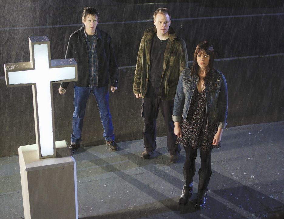 Böse Freunde: Tony (Chad Lindberg, l.), Matt (Matt McTighe, M.) und Yolanda (Samantha Shelton, r.) ... - Bildquelle: ABC Studios