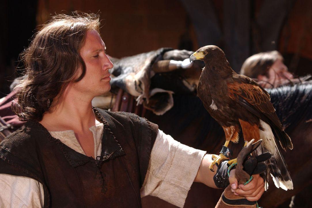 Am Hof von Burgund verliebt sich Prinzessin Kriemhild, die Schwester des Königs, Hals über Kopf in den stolzen Siegfried (Benno Fürmann). - Bildquelle: Tandem Communication/VIP Med Sat.1
