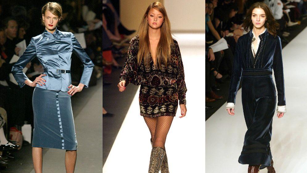 Mode-Trend Samt: Jetzt wird es flauschig! - Bildquelle: AFP