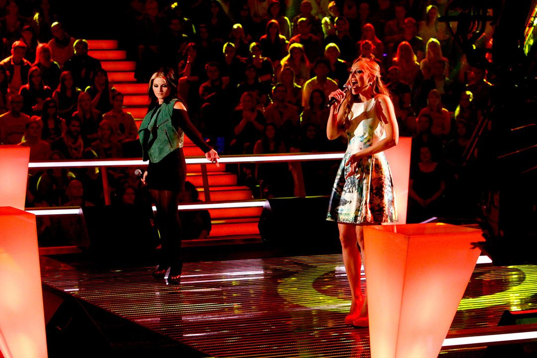battle-lida-vs-mel-01-the-voice-of-germany-richard-huebnerjpg 1700 x 1134 - Bildquelle: SAT.1/ProSieben/Richard Hübner