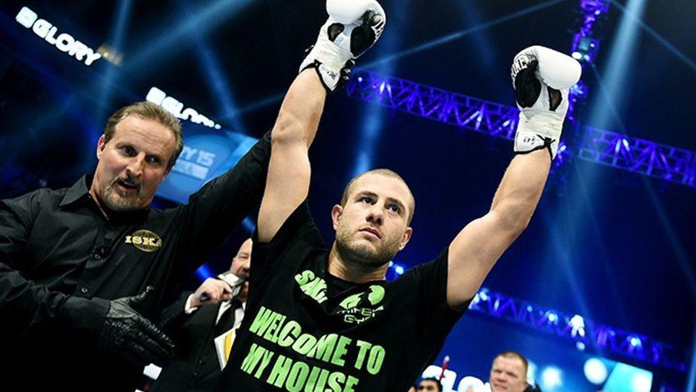 Gökhan Saki will nun auch in der UFC für Furore sorgen - Bildquelle: Glory World Series