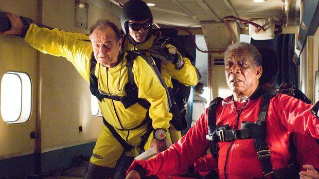 Der schwerreiche Unternehmer Edward Cole (Jack Nicholson, l.) und der Automec...