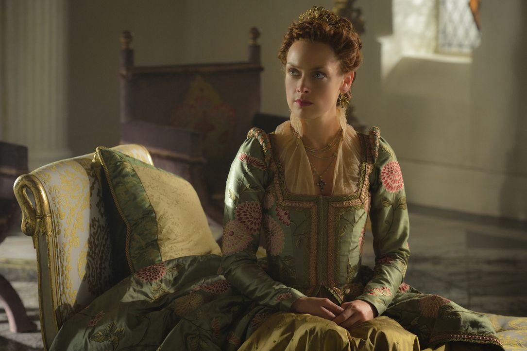 Wie wird Elizabeth (Rachel Skarsten) reagieren, als Mary einen Schritt wagt, der ihre Allianz mit Schottland aufs Spiel setzen könnte? - Bildquelle: Ben Mark Holzberg 2015 The CW Network, LLC. All rights reserved.
