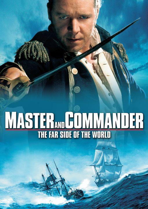 MASTER AND COMMANDER - BIS ANS ENDE DER WELT - Plakatmotiv - Bildquelle: 2003 Twentieth Century Fox Film Corporation, Miramax Film Corp. and Universal City Studios LLLP. All rights reserved.