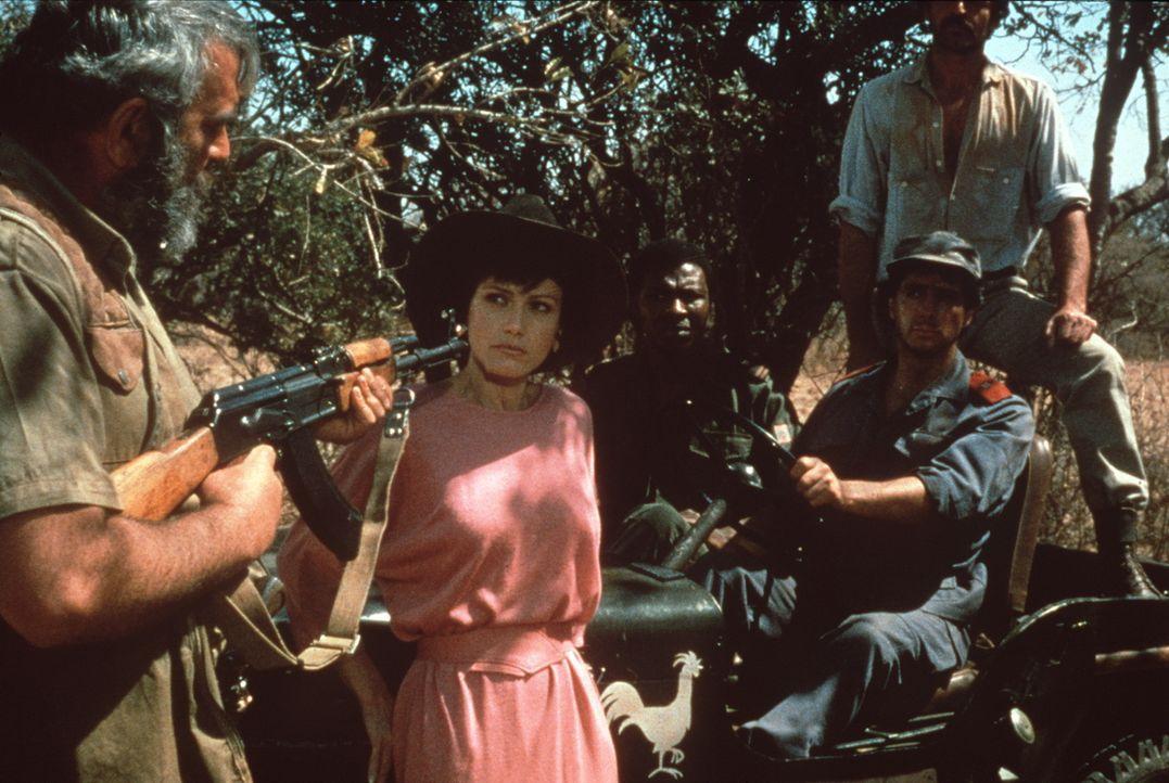 Auf der Suche nach Xixos Kindern gerät die attraktive Juristin Dr. Ann Taylor (Lena Farugia, M.) in die Hände von brutalen Wilderern ... - Bildquelle: Columbia Pictures