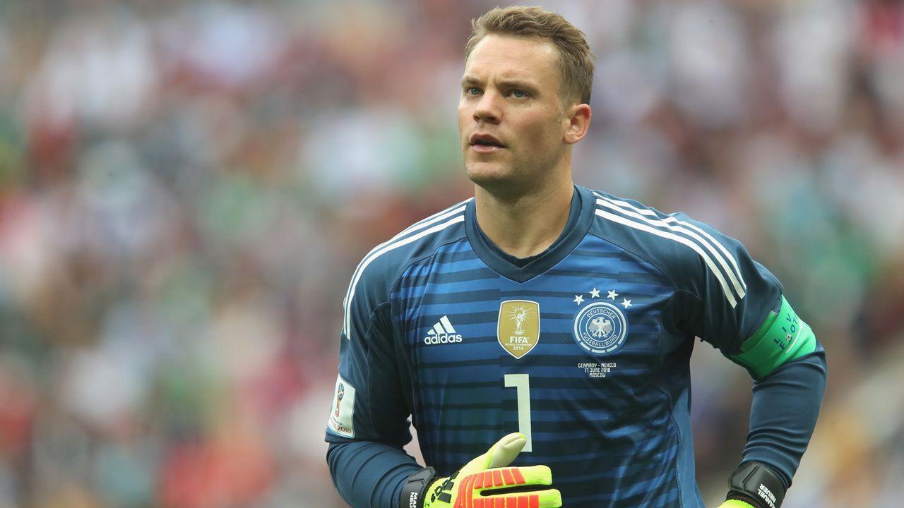 Tor: Manuel Neuer - Bildquelle: 2018 Getty Images