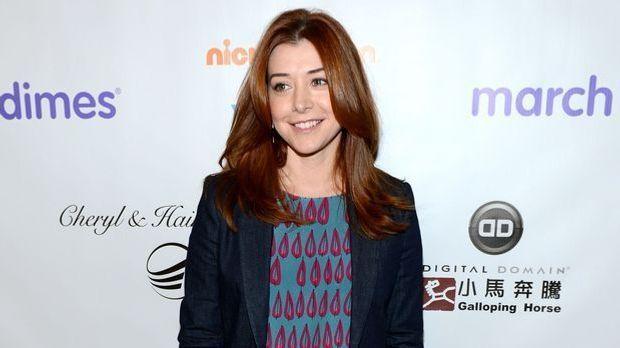 Alyson Hannigan kennt man als Willow aus der Serie Buffy