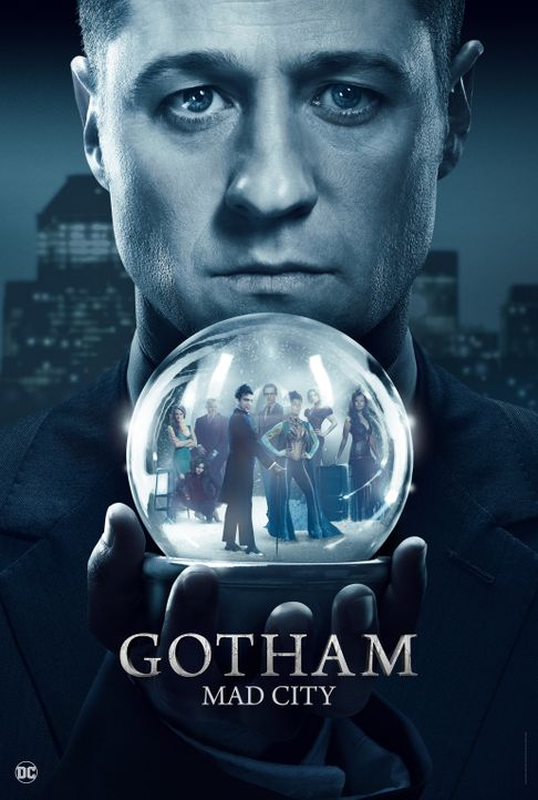 (3. Staffel) - Gotham - Artwork - Bildquelle: 2016 Warner Brothers