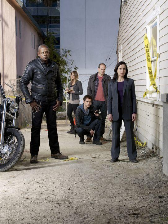 (1. Staffel) - Das Elite-Team der FBI-Sondereinheit Behavioral Analysis Unit kommt jedem Verbrechen auf die Spur: John (Michael Kelly, 2.v.r.), Beth... - Bildquelle: ABC Studios