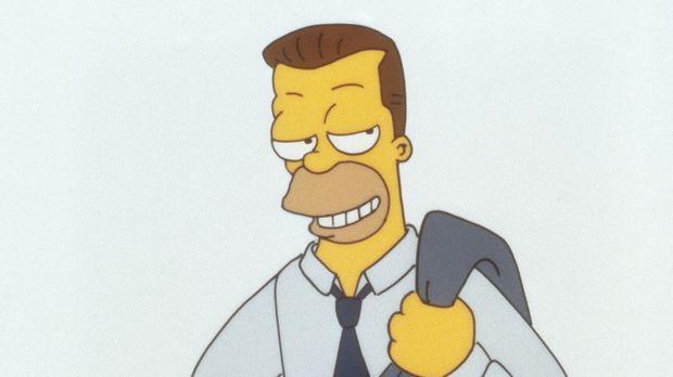 Homers Vater verrät seinem Sohn ein Geheimnis: Homer hat einen unehelichen Ha...